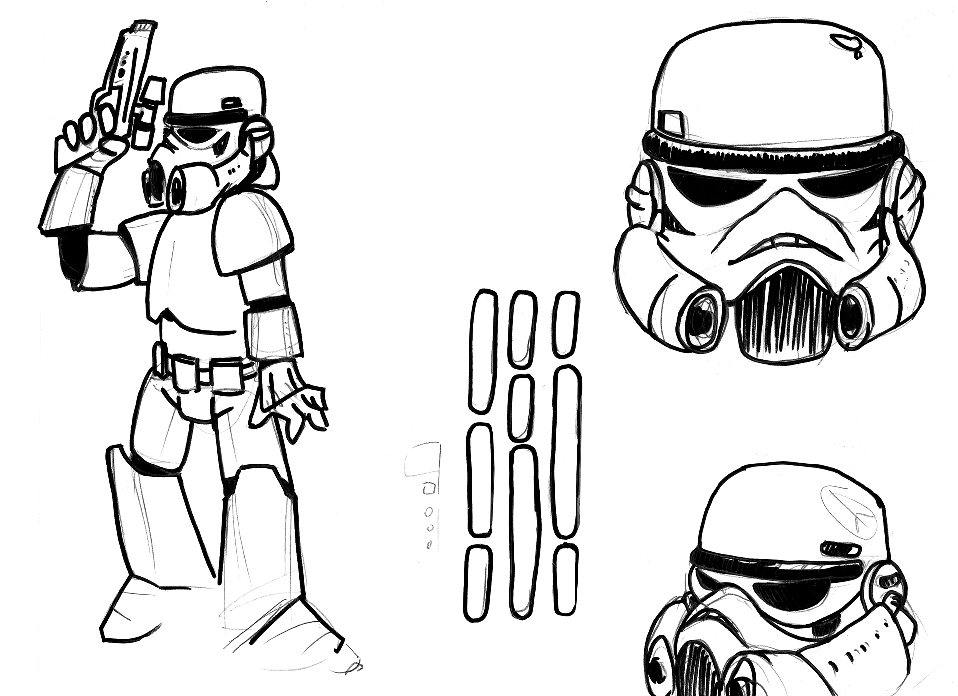 Stormtrooper-croquis