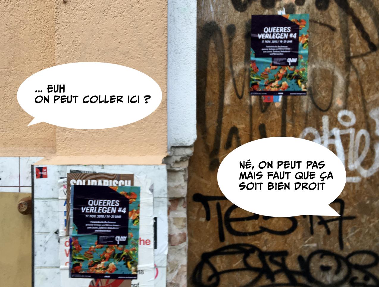 Queeres-Verlegen-affiches