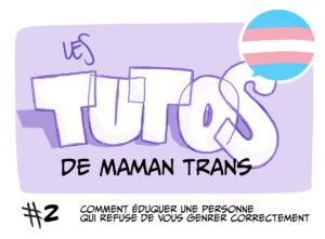 les tutos de maman trans
