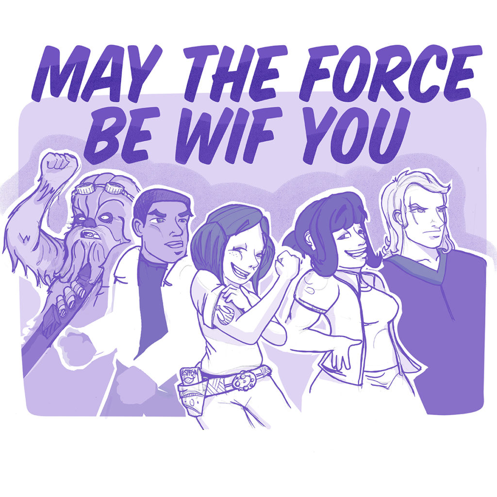 May the force be wif you